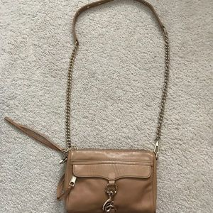 Rebecca Minkoff Small MAC - caramel color
